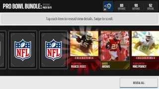 getlinkyoutube.com-Pro Bowl Bundle Opening   Madden NFL Mobile