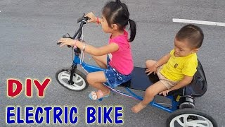 getlinkyoutube.com-How To Make Electric Bike At Home