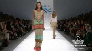 getlinkyoutube.com-Agostina Bianchi at Mercedes Benz Fashion week New York Spring 2014-05