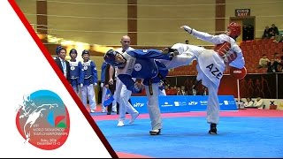 getlinkyoutube.com-[FINAL] MALE Team   KOREA vs. AZERBAIJAN / 2016 WTF World Taekwondo Team Championships