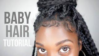 getlinkyoutube.com-How To Slay + Lay Your Edges! Baby Hair Tutorial