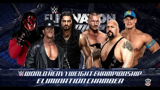 getlinkyoutube.com-WWE 2K16- Randy Orton vs Big Show vs Cena vs Undertaker vs Kane Vs Roman Reigns Elimination Chamber