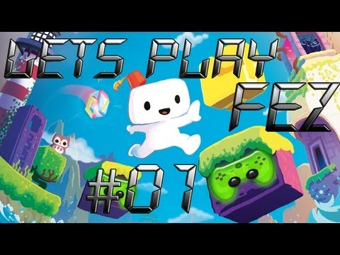 Let's Play FEZ #01 [Deutsch/Full-HD/Blind] - Hallo Gomez