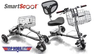 SmartScoot Air & Cruise Travel Lightweight Folding Mobility Scooter