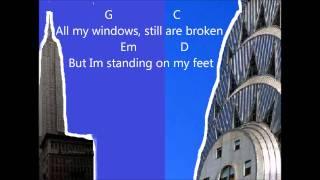Demi Lovato- Skyscraper (with guitar chords)