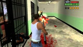 getlinkyoutube.com-Играем в GTA San Andreas (Угар в полиции)