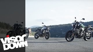 getlinkyoutube.com-Yamaha XSR700 review | Visordown Road Test