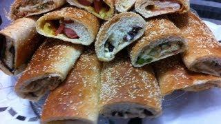 getlinkyoutube.com-اسهل طريقه لعمل ساندوتش المدرسه  How to make School Sandwiches