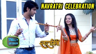 getlinkyoutube.com-Swara Teaches Lakshya How To Play Dandiya On Navratri Festival | Swaragini | Colors