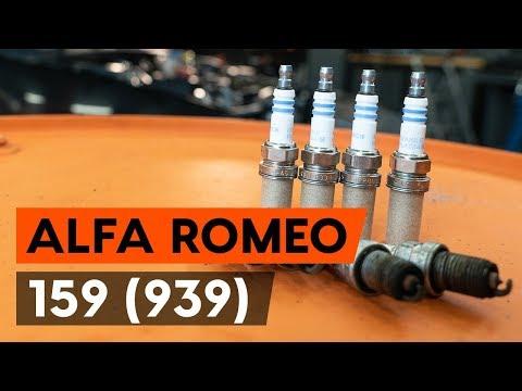 Как заменить свечи зажигания на ALFA ROMEO 159 1 (939) (ВИДЕОУРОК AUTODOC)
