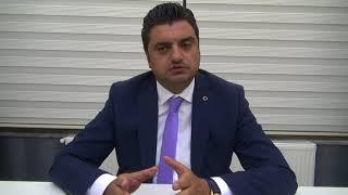 Avukat Bahadır Pir aday adaylığını açıkladı