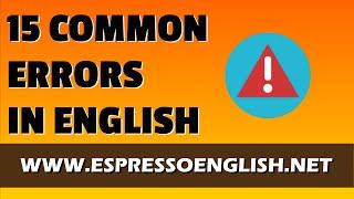 getlinkyoutube.com-15 Common Errors in English