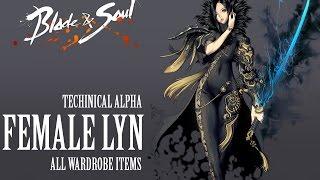 getlinkyoutube.com-Blade & Soul All Costumes ( Female Lyn )