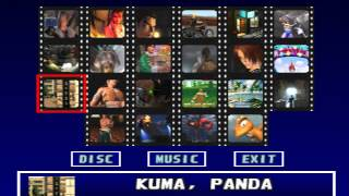 getlinkyoutube.com-Tekken 3 (PLAYSTATION) Theatre Mode