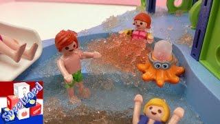 getlinkyoutube.com-Playmobil kinderdagverblijf dagje uit naar het Slijm- en Kleiland – Playmobil verhaal Nederlands