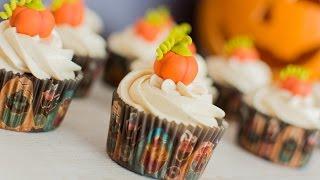 getlinkyoutube.com-Cupcakes de Calabaza   Especial Halloween   Quiero Cupcakes!
