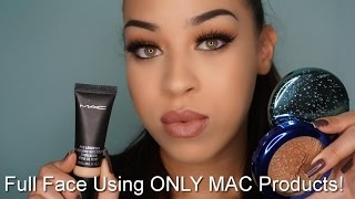 getlinkyoutube.com-FULL FACE USING ONLY MAC PRODUCTS| ONE BRAND MAKEUP TUTORIAL| Victoria Lane