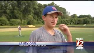 getlinkyoutube.com-12-Year-Old Pitcher Hurls It Fast