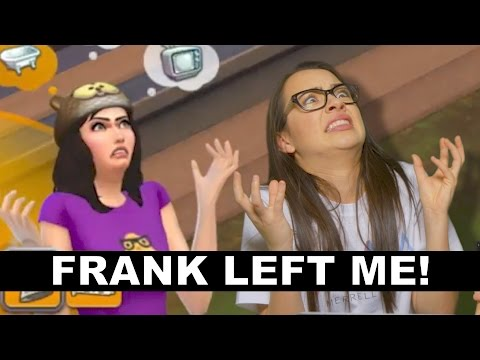 Sims 4: FRANK LEFT ME! - Merrell Twins Ep2