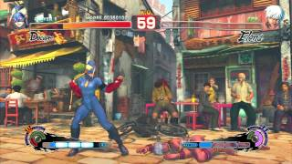 Ultra Street Fighter 4 Decapre Arcade Mode