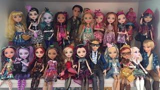 getlinkyoutube.com-Ever After High Doll Collection Update - June 7, 2015