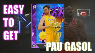 getlinkyoutube.com-How To Get Amethyst Pau Gasol FREE- NBA 2K16 MyTeam