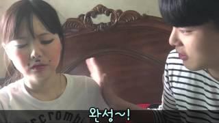 getlinkyoutube.com-홍영기 & 이세용 커플의 세용이가 영기 화장해주기 (Hubby does my make-up)