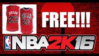getlinkyoutube.com-(Working ✔️) NBA 2K16 - FREE MICHAEL JORDAN JERSEY GLITCH
