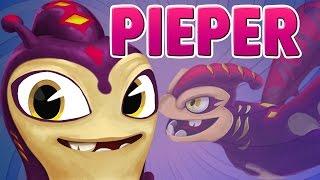 NEW SLUG ! PIEPER ! Second Female Slug in Slugterra Slug it out 2 ! Tad Blakk Slug !