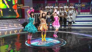 100923 추석특집 2010 스타 댄스 대격돌   밀크캬라멜 동호, 동준, 성종