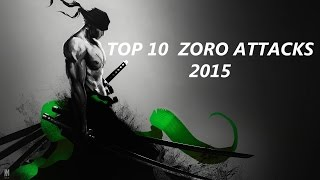 getlinkyoutube.com-Top 10 Zoro Attacks 2016