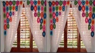 getlinkyoutube.com-HERMOSAS CORTINAS A CROCHET
