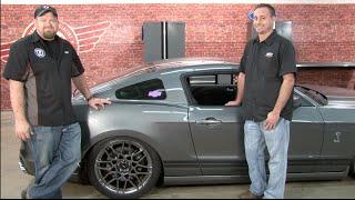 getlinkyoutube.com-Mustang Air Lift Performance Complete Digital Air Suspension Kit Install 2005-2014