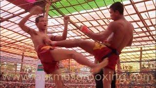 getlinkyoutube.com-Lethwei Burmese Boxing [HD] - Saw Htoo Aung vs. Swe Gi San - 03.02.2015 Ye