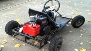 getlinkyoutube.com-Homemade Race Kart