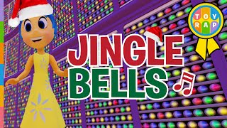 getlinkyoutube.com-Inside Out Joy JINGLE BELLS Let's Play to CHRISTMAS SONGS for Kids Merry Christmas by Toy Rap
