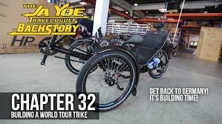 getlinkyoutube.com-Building a World Tour Recumbent Trike | JaYoe Travelogues Backstory | Chapter 32