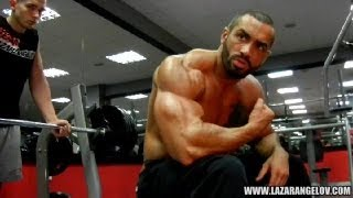 getlinkyoutube.com-Lazar Angelov Chest Workout Video 2013