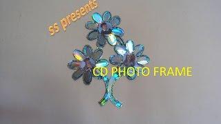 getlinkyoutube.com-CD PHOTO FRAME OR WALL DECOR