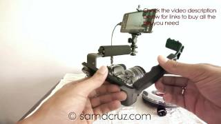 getlinkyoutube.com-Canon 6D with Samsung Galaxy Note 3 as Video Monitor Screen Using DSLR Controller - Build Cheap Rig