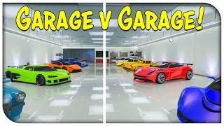 getlinkyoutube.com-GTA 5 Online - THE GARAGE vs GARAGE SHOWDOWN EP. 5 (Competitive Garage Showcase) [GTA V]