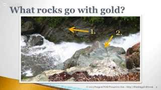 getlinkyoutube.com-Rocks & Gold - How rocks tell you where to find gold.