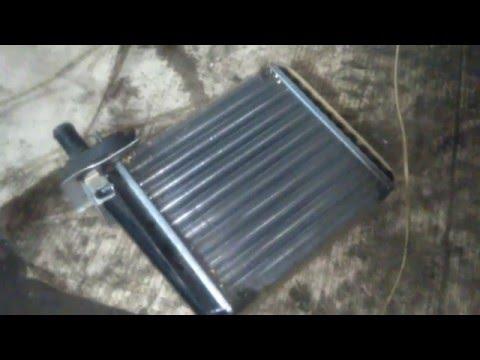 Лада калина замена радиатора отопителя самый правильный способ