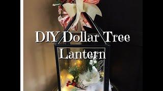 getlinkyoutube.com-DIY Dollar Tree Holiday Lantern How-To
