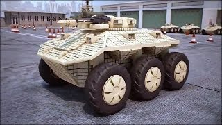 getlinkyoutube.com-Dahir Insaat - Russia Unmanned Ground Combat Vehicle (GCV) Combat Simulation [720p]