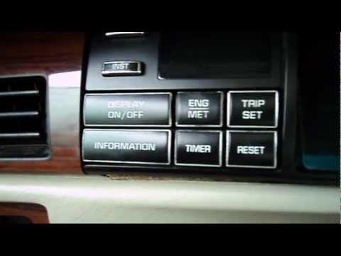 1994 Deville: Driver Information Center RPM, Engine Coolant, Battery Voltage Setup
