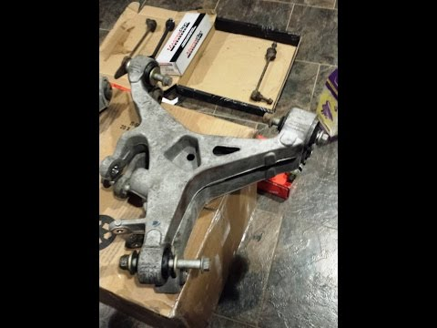 Jaguar XJ8 Control Arm. - Replacing Rear Lower Wishbone