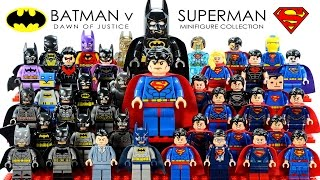 getlinkyoutube.com-Batman v Superman: Dawn of Justice 2016 LEGO® Minifigure Collection DC Comics Super Heroes