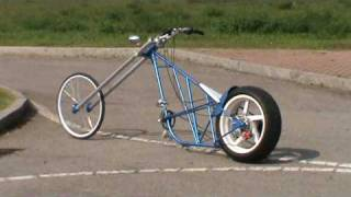getlinkyoutube.com-Mr. Bist: Chopper Bike hand made