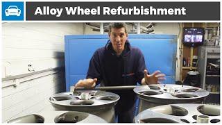 getlinkyoutube.com-Alloy Wheel Refurbishment - MicksGarage.com Project GTi